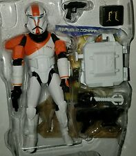 "Star Wars REPUBLIC COMMANDO BOSS 3.75"" Figure CW11 Delta Squad Clone Wars"