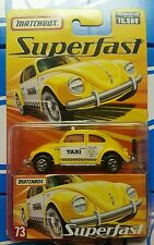 Matchbox Lesney Edition Superfast Volkswagen Beetle Taxi Cab 1 of 15500