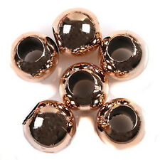 175x 153070 New Arrive Rose Gold Charm Acrylic Beads 15mm Fit European Bracelets
