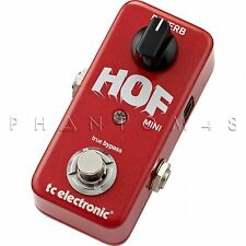 TC Electronic Hall of Fame Mini HOF Guitar Reverb Electronics Effects Pedal