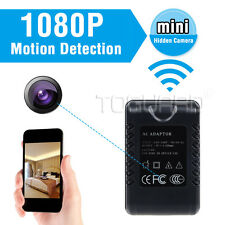 HD 1080P Detachable Travel Multi-Socket Hidden Camera Nanny Cam Motion Detection