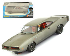 Pioneer 1969 Dodge Charger Grey Stealth Stage 2 426 HEMI Slot Car 1/32 P092