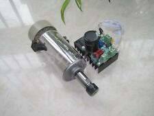 New 400W CNC Spindle Motor Kits PWM Speed Controller + Mount Bracket
