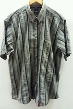Engbers Grey Striped Shirt Size XL 43/44  C2057