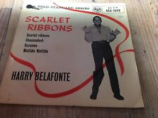 harry belafonte-scarlet ribbons-rca ep gold standard series