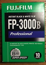 Fuji FP-3000B Instant Film (09/2011 expiration) WORKS!