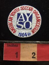 1980s Or 90s Patch AYSO AMERICAN YOUTH SOCCER ORGANIZATION 1964 S60F