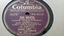 ALEX MOORE PRESENTS MANTOVANI'S ORCHESTRA THE VALETA & DESTINY COLUMBIA FB2112