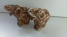 Petite statue éléphant en céramique. Small elephant statue ceramic