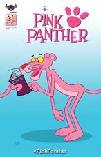 PINK PANTHER #2 SET OF FOUR COVERS MAIN, CLASSIC PINK, PINK HIJINKS & RETRO 2016