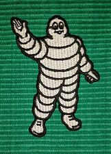 Vintage Michelin Man TYRE Racing Formula-1 Biker Iron/ Sew-on Embroidered Patch