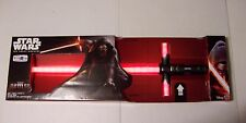 STAR WARS THE FORCE AWAKENS 2015 KYLO REN ULTIMATE FX LIGHTSABER HASBRO NEW!
