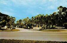 Homestead Florida Souther Pines Cottages and Trailer Park vintage pc Z18558