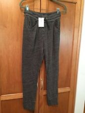 NWT $380 Isabel Marant SZ M NUK NUK Gray Cotton Sweat Pants Sweats