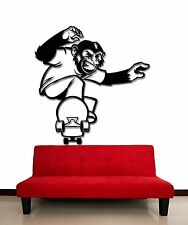 Wall Stickers Vinyl Decal Scateboard Extreme Sport Animal Monkey  (z2091)