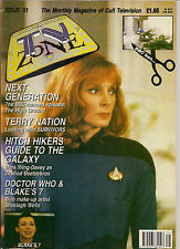 TV Zone#31 1992 HITCHIKER'S GUIDE TO THE GALAXY,BEAUTY AND THE BEAST,SURVIVORS