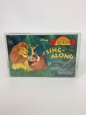 1994 Disney THE LION KING Cassette SING-ALONG VINTAGE 90's Toy Music Kids