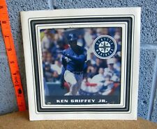 KEN GRIFFEY framed carnival picture Seattle Mariners baseball 1990s kitschy