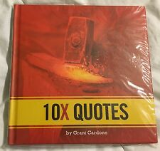 Grant Cardone 10X Quotes Book - Brand New Sealed - Based on 10X Rule Book
