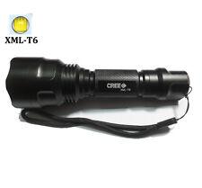 new UltraFire 2500LM CREE C8 XMLT6 LED Tactical Flashlight Torch linternas lamp