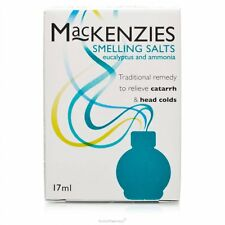 Mackenzies Smelling Salts Catarrh head cold  17ml