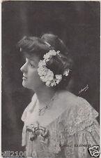 CARTE-PHOTO H.MANUEL . MARTHE REGNIER . 1905