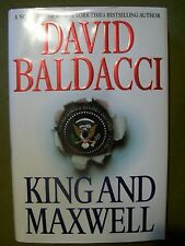 LOT OF 2 David Baldacci Hardcovers ~ King and Maxwell / The Escape