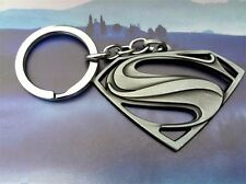 DC Comics SUPERMAN VS BATMAN Logo Movie Key chain Antique silver color cosplay