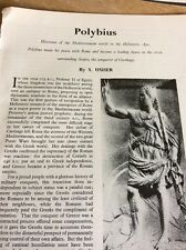 T1-8 Ephemera 1963 Article Polybius S Usher