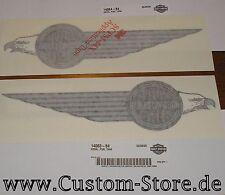 Harley NOS 14064-84 Shovelhead 1984 Tank Emblem Decal Aufkleber left side only