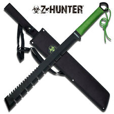 Z-Hunter Green Cord Wrapped Zombie Hunter Stainless Steel Machete #064