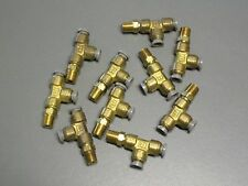 171PL-4-2 PARKER PRESTOLOK BRASS FITTING LOT OF 10