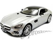 Maisto Mercedes Benz AMG GT 1:18 Diecast Model Car Silver
