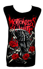 MOTIONLESS IN WHITE bones skull Rock Band Music Tank Top Vest T-Shirt Size M