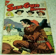 Six-Gun Heroes 47, (VF- 7.5) 1958 Charlton! Williamson & Torres! 30% off Guide