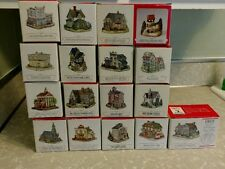 Liberty Falls Americana Collection LOT of 17 Houses Buildings