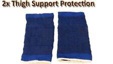 2 Neoprene Coscia supporto rinforzo gamba per Palestra Sport pregiudizio elasticizzati Bandage UK