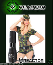 REACTOR EXTREME BLACK SHADOW X800 HAWK FLASHLIGHT * IN STOCK NOW * FREE SHIPPING
