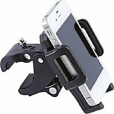 Universal Adjustable Motorcycle Bicycle Phone Mount fits iPhones GPS Most Phones