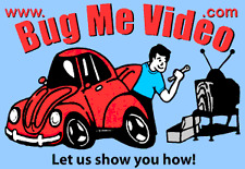 Bug Me Video  VW repair  set of 5  DVDs  6-10