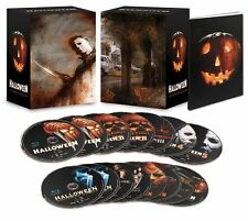 Halloween: Complete Movie Collection LIMITED EDITION Blu-ray Boxed Set +Xtras