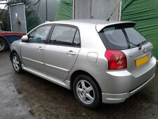 05 toyota corolla breaking lights engine gearbox boot alloys door bonnet 2.0d4d