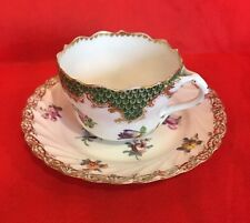 Vtg Fine Bone China Cup And Saucer