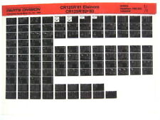 Honda CR125 CR125R 1981 1982 1983 Parts List Catalog Microfiche a482
