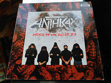 LP ANTHRAX - ATTACK OF THE KILLER B'S - ISLAND RECORDS UK 1991 VG/VG+