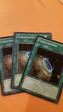 Yu-Gi-Oh! - 3x Terraforming - Various Sets/Editions x3 Commons - NM