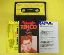 MC LUIGI TENCO canta DE ANDRE JANNACCI BOB DYLAN 1973 italy no cd lp dvd vhs