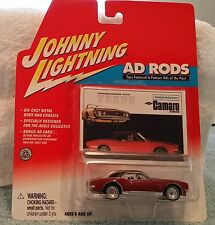Johnny Lightning 1967 Camaro RS  Ad Rods MOC BP MIP  carded 1/64 Chevy