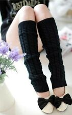 Hot Women Lady Winter Leg Warmers Gaiters Knit Warm Boot Cuffs Socks Fashion