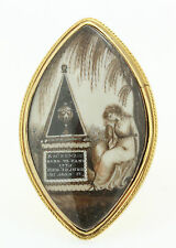 A Mother's Georgian Mourning Ring For Her Child Ring Dated 1787
